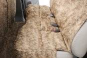 Canine Covers® - True Timber™ Camo Print Custom Rear Flooded Timber Seat Protector