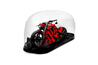 CarCapsule® - Indoor Bubble Bike Cover