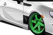 Carbon Creations® - GT Concept Style Fiberglass Side Skirts