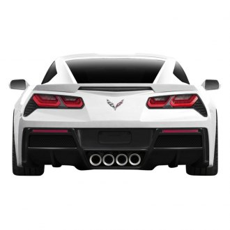 Carbon Creations® - Gran Veloce Style Carbon Fiber Rear Diffuser