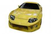 Carbon Creations® - TD3000 Style Carbon Fiber Wide Body Hood