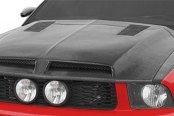Carbon Creations® - GT500 Style Carbon Fiber Hood