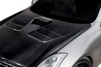 Carbon Creations® 107067 - TS-2 Style Carbon Fiber Hood