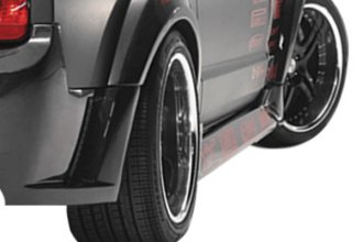 Carbon Creations® - Circuit Style Carbon Fiber Wide Body Rear Fender Flares