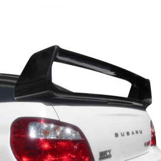 Carbon Creations® - STI Style Carbon Fiber Rear Wing Trunk Lid Spoiler