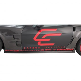 Carbon Creations® - ZR Edition Style Carbon Fiber Side Skirts