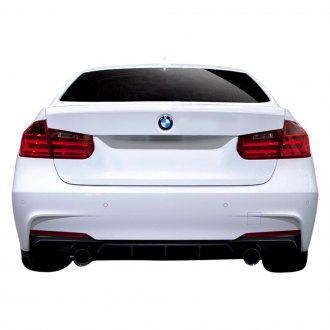 2015 BMW 3 Series Custom Rear Diffusers