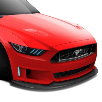 Carbon Creations® - Grid Style Carbon Fiber Front Bumper Lip Under Air Dam Spoiler