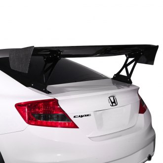 Carbon Creations® - VRX Style Carbon Fiber Wing Complete Kit
