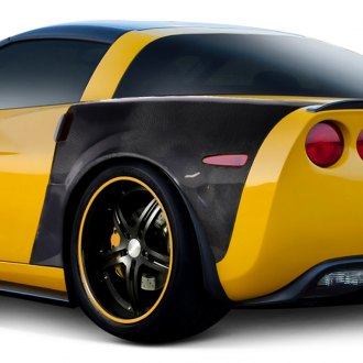 Carbon Creations® - ZR1 Style Carbon Fiber Rear Fenders