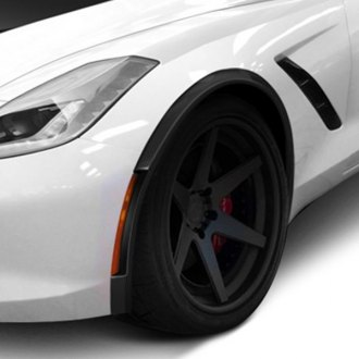 Carbon Creations® - ZR-C Style Carbon Fiber Front and Rear Fender Flares