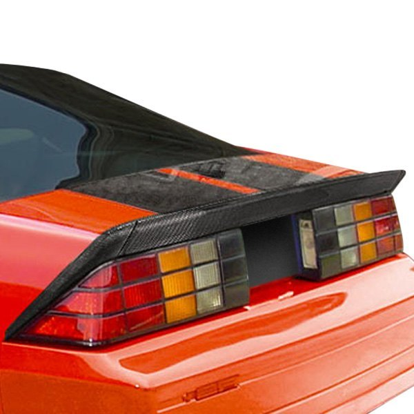 Image may not reflect your exact vehicle! Carbon Creations® - Xtreme Style Carbon Fiber Lip Trunk Lid Spoiler