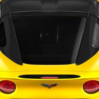 Carbon Creations® - Stingray Style Carbon Fiber Roof Window Rail Halo Kit