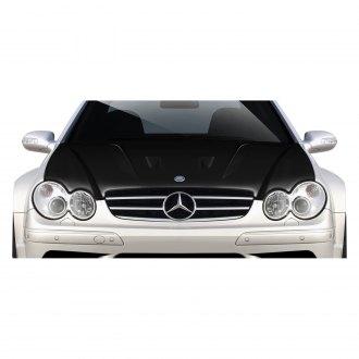 2005 mercedes clk class replacement hood panels at for Mercedes benz hood replacement