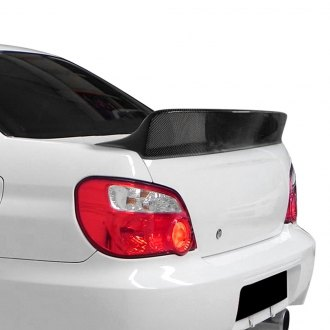Carbon Creations® - Downforce Style Carbon Fiber Rear Lip Spoiler