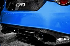 Carbon Creations® - Carbon Fiber Rear Add On on Scion FR-S