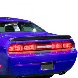 Carbon Creations® - SRT Style Carbon Fiber Lip Trunk Lid Spoiler