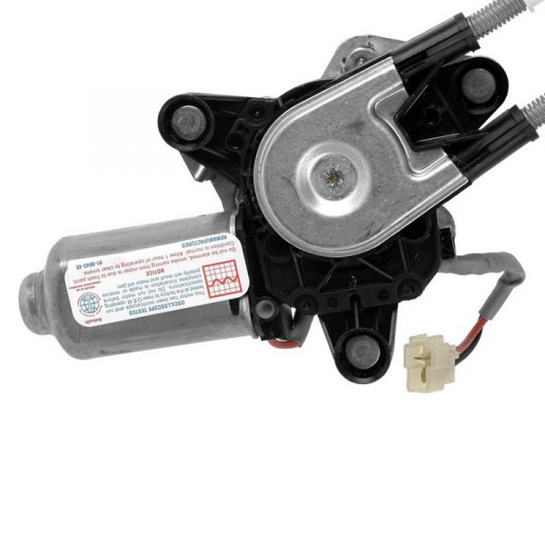 A1 Cardone® - Remanufactured Front Driver Side Power Window Motor and Regulator Assembly
