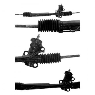 A1 Cardone® - Hydraulic Power Steering Remanufactured Rack and Pinion Assembly