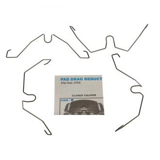 Carlson® - Disc Brake Pad Drag Reduction Clips