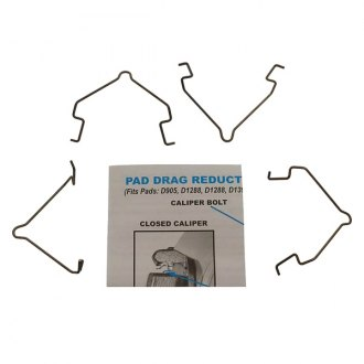 Carlson® - Rear Disc Brake Pad Drag Reduction Clips