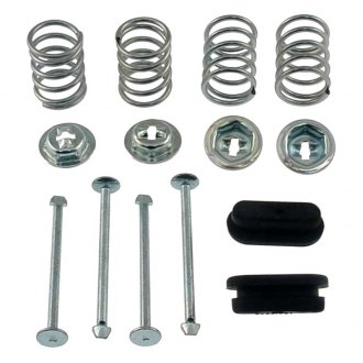 Carlson® - Rear Brake Shoe Spring Hold Down Pin Clip Kit