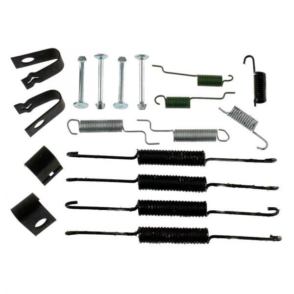 Silver Hose /& Stainless Banjos Pro Braking PBK2503-SIL-SIL Front//Rear Braided Brake Line
