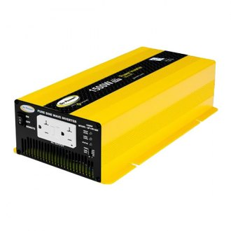 Carmanah® - Go Power™ Pure Sine Wave Inverter (1500W, 12V-High Surge)