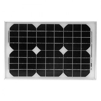 Carmanah® - Go Power™ Trickle Charge Solar Panel Kit (10W, No Regulator Required)