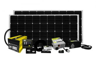 Carmanah® SOLAR ELITE - Go Power™ Elite Solar Charging System (320W, 18.3Amp)