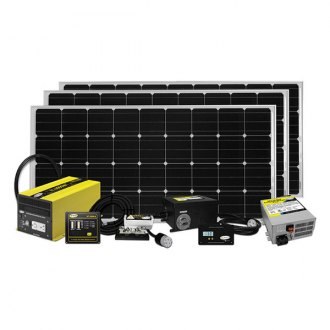 Carmanah® - Go Power™ Extreme Solar Charging System (480W, 27Amp)