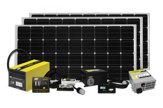 Carmanah® SOLAR EXTREME - Go Power™ Extreme Solar Charging System (480W, 27Amp)