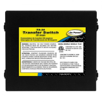 Carmanah® - Go Power™ Transfer Switch (30Amp)