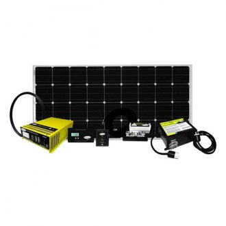 Carmanah® - Go Power™ Weekender Solar Charging System (160W, 9.14Amp)