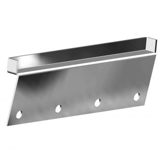 CARR® - Polished Roof Gutterless Mount Kit for Deluxe, Deluxe Rota, M-Profile, C-Profile, and Low-Profile Bars