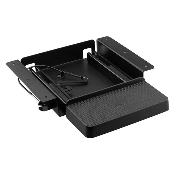CARR® - Black Cast Retractable Work Truck Step