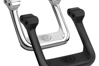 CARR® 103991 - Hoop II Black Powdercoat Steps