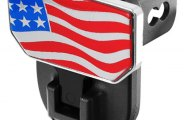 CARR� - HD Hitch Step with USA Flag Logo