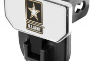 CARR� - HD Hitch Step with U.S. Army Logo