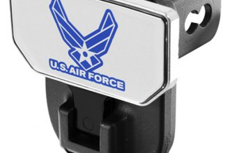 CARR® 183132 - HD Universal Hitch Steps With U.S. Air Force Logo