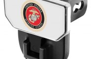 CARR® - HD Hitch Step with U.S. Marines Logo