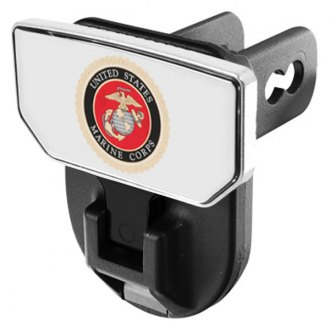CARR® - HD Universal Hitch Steps With U.S. Marines Logo