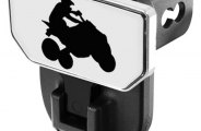 CARR® - HD Hitch Step with Quad Logo