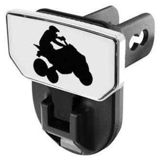 CARR® - HD Universal Hitch Steps With Quad Logo
