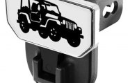 CARR® - HD Hitch Step with Jeep Logo