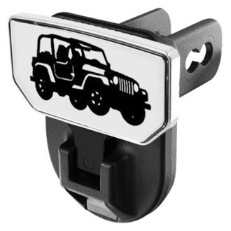 CARR® - HD Universal Hitch Steps With Jeep Logo