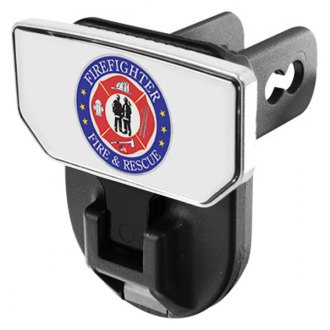 CARR® - HD Universal Hitch Steps With Fire & Rescue Logo