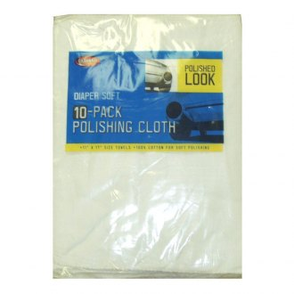Carrand® - Diaper Soft™ Bagged Polishing Cloths