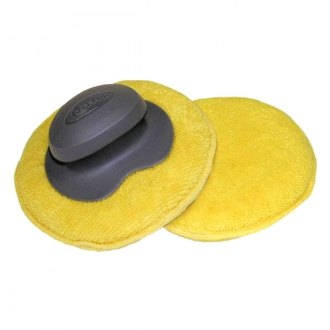Carrand® - The Gripper™ Microfiber Round Applicator Pad 5""