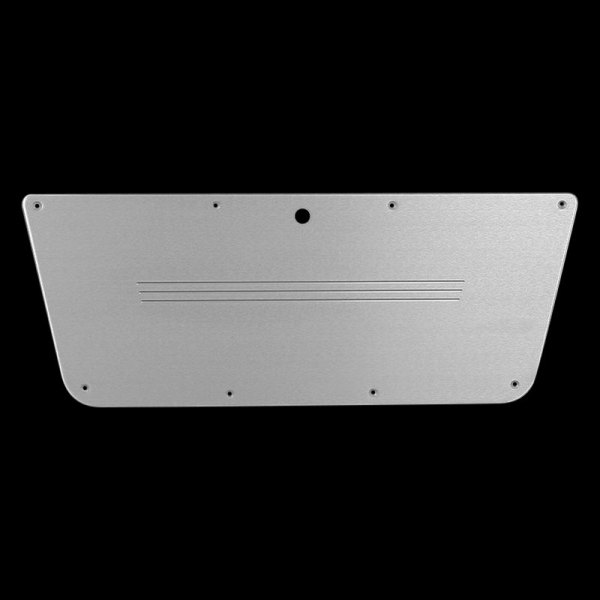 Carriage Works® - Brushed Billet Aluminum Glove Box Cover